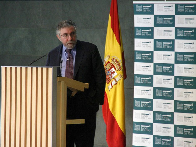 Conferencia del economísta Paul Krugman en Madrid